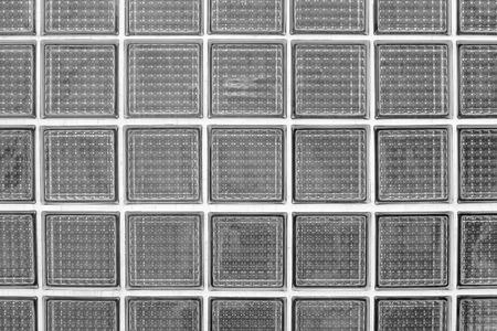 glass brick: Pattern of glass brick wall.