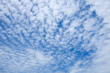 cirrostratus: Cirrostratus cloud and blue sky in sunny day.
