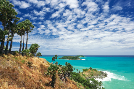 Phromthep cape viewpoint, Phuket,Thailand. Stock Photo