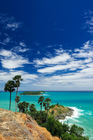 Phromthep cape viewpoint, Phuket,Thailand. 版權商用圖片