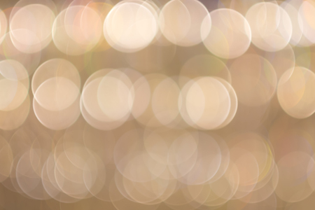 Abstract brown bokeh background.