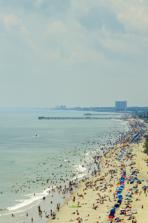 South Myrtle Beach, South Carolina, is a popular vacation destination on the East Coast