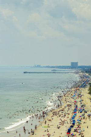 South Myrtle Beach, South Carolina, is a popular vacation destination on the East Coast