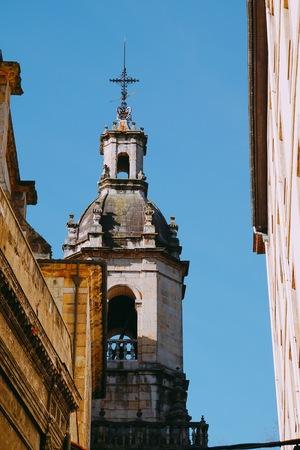 church architecture in the city. bilbao spain