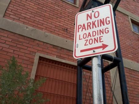 no parking: No parking sign Stock Photo