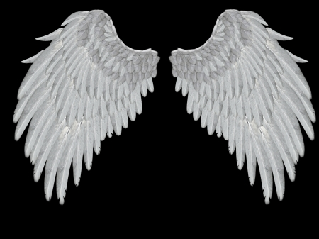 Angelic Flügel Standard-Bild