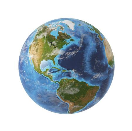 地球。 写真素材