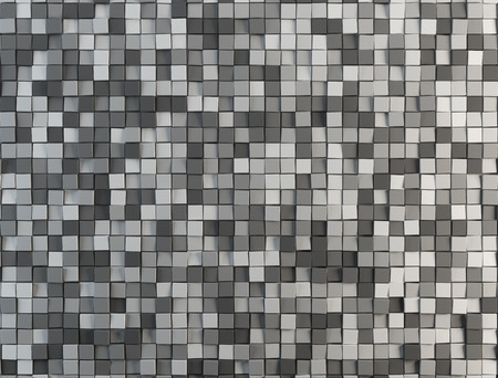 abstract cubes: gray abstract cubes abstract background