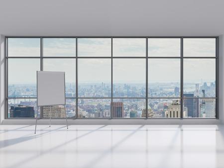 papeles oficina: escritorio en blanco en la oficina moderna, de cerca Foto de archivo