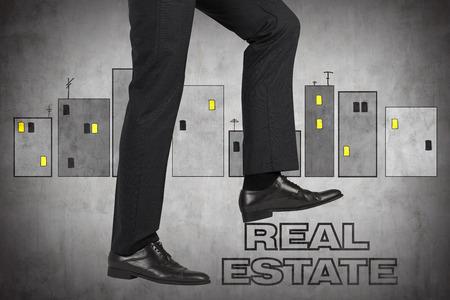 realtor: leg realtor comes on real estate symbol
