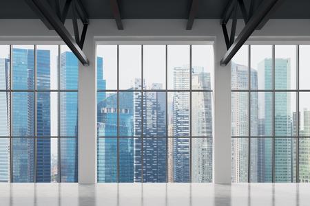 Moderne Büro mit Blick auf Singapur. Geschäftsstadt. Standard-Bild - 41111493