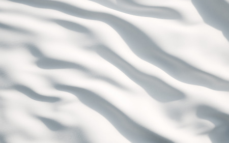 white flag: White satin, silk, texture background. A concept of white flag. Stock Photo