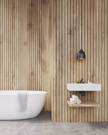 Awesome Houten Wand In Badkamer Ideas - Home Ideas Design ...