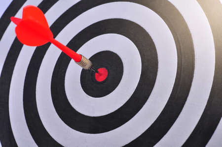 Dart is an opportunity and Dartboard is the target and goal.
