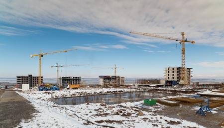 Mass housing construction