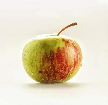 green apple, isolated white back ground Stock Photo - 17416615