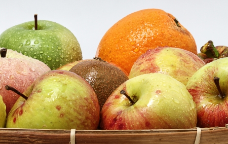 portrait of close up fruits Stock Photo - 17685691