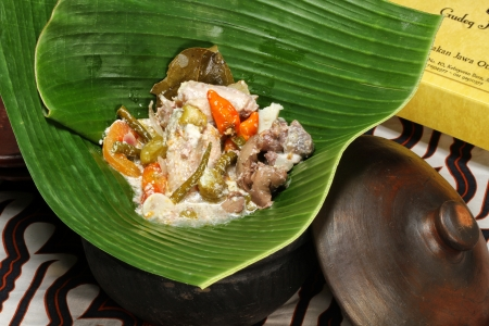 garang asem indonesian cuisine Foto de archivo