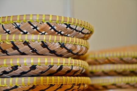 winnowing: winnowing made of bamboo