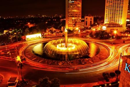 Jakarta kašna city