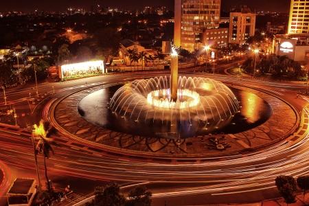 Jakarta city fountain