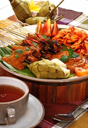 sate padang, Padang Satay, Indonesian food
