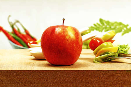 apples, red and green Stock Photo