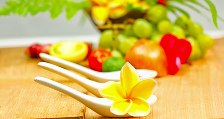 yellow flower, Bali flower