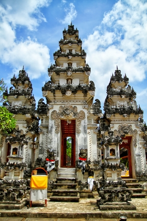 hindu temple, Bali pura Stock Photo
