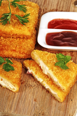 Indonesian square rissole