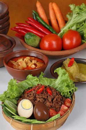 jack fruits dish, gudeg Jogya, Indonesian food