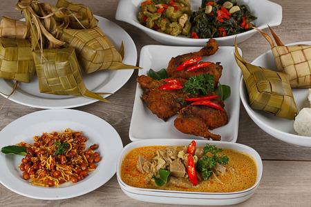 ketupat lebaran, Indonesian food for festive day