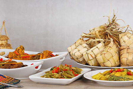 Indonesian food for festive day