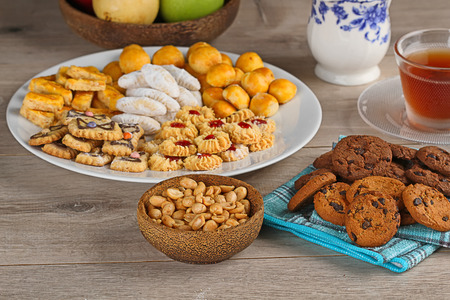 Cookies for hari raya aidilfitri, Indonesian cookies photo