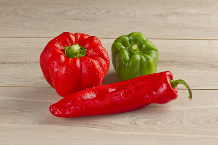 merah: chili peppers
