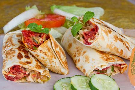 kebab, beef doner
