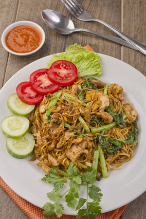 java fried noodle, mie jowo, Indoneisan food