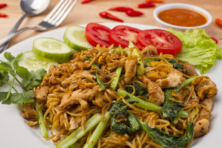 mie jowo, Indonesian fried noodle