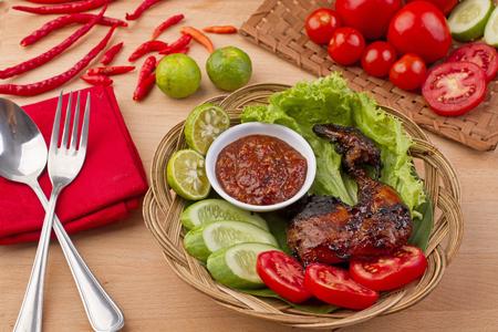 ayam bakar, Indonesian chicken roasted