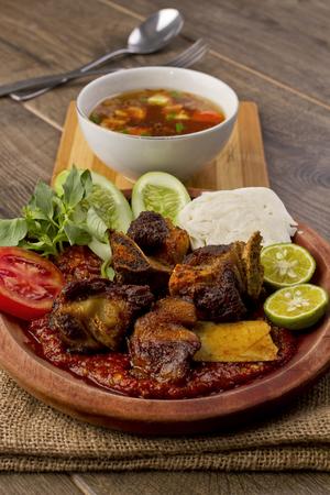 iga: Iga penyet, Indonesian fried ribs