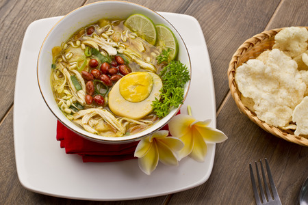 soto ayam, Indonesian chicken Soup