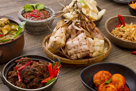 ketupat Hari Raya, Indonesian rice cake