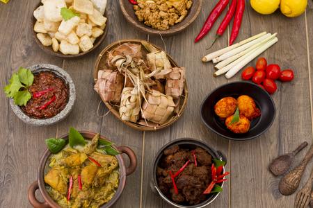 ketupat ハリラヤ、インドネシアのお餅