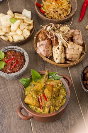 opor ayam, Indonesian chicken curry