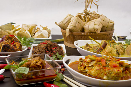 various Indonesian food Stock Photo - 86026727