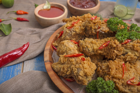 fried chicken Indonesian recipe