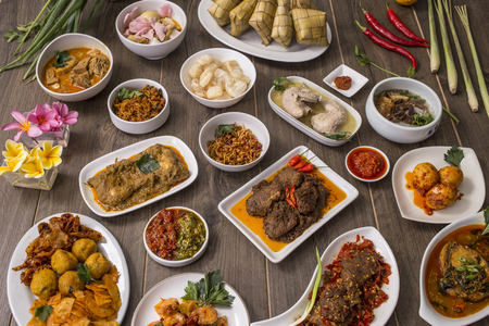 Indonesian food and drinks Archivio Fotografico - 108859913