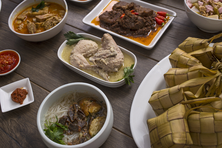 Indonesian food and drinks
