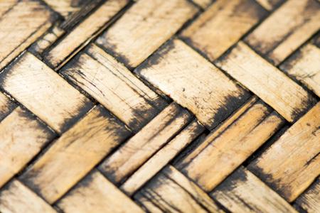 Old wicker texture background 免版税图像