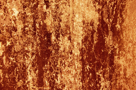 Blood Texture Background. Texture of  Concrete wall with bloody red stains. Halloween Background.